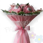 Bouquet de Rosas con Chocolates X 7