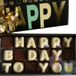 "::::  Choco Mensaje  ::::  ""Happy B Day To You"""