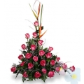 Arrangement with Roses Romance