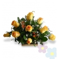 Arrangement with Roses Radiant