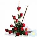 Arrangement with Roses Urano